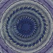 Circular Abstract 9 Art Print
