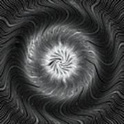 Circular Abstract Art 7 Art Print
