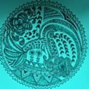 Circular Art Art Print