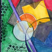 Circular Confusion Art Print
