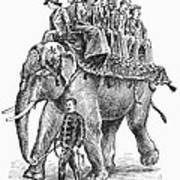 Circus: Elephant, C1901 Art Print