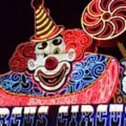 Circus Neons Art Print
