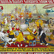 Circus Poster, 1903 Art Print