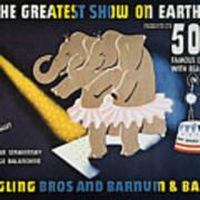 Circus Poster, 1942 Art Print
