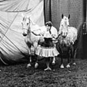 Circus: Rider, C1904 Art Print