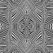 Circus Stripes Art Print