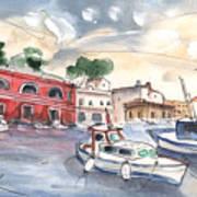 Citadel Of Minorca 03 Art Print