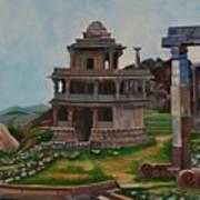 Cithradurga Fort Art Print