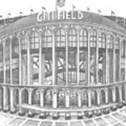 Citi Field Print by Juliana Dube