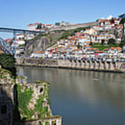 Cities Of Porto And Gaia In Portugal Art Print