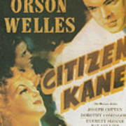 Citizen Kane - Orson Welles Art Print
