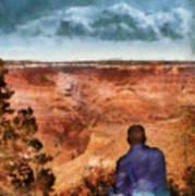 City - Arizona - Grand Canyon - The Vista Art Print