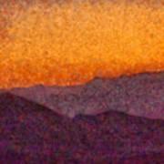 City - Arizona - Rolling Hills Art Print