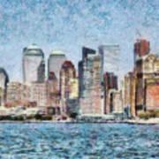 City - Ny - Manhattan Art Print