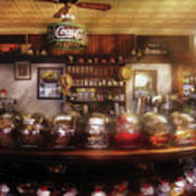 City - Ny 77 Water Street - The Candy Store Print by Mike Savad