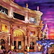 City - Vegas - Mirage - The Entrance Art Print