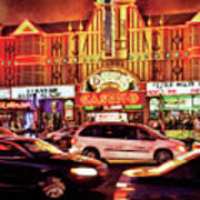 City - Vegas - O'sheas Casino Art Print