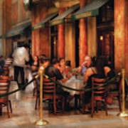 City - Venetian - Dining At The Palazzo Art Print