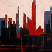 City Abstract No. 1 Art Print