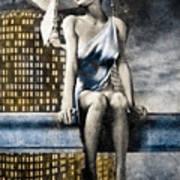 City Angel -2 Art Print by Bob Orsillo