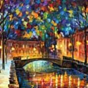 City Bridge Art Print