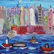 City City City Art Print