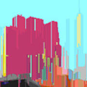 City Color 3 Art Print