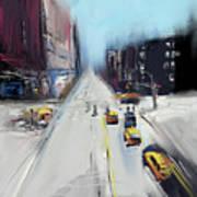City Contrast Art Print