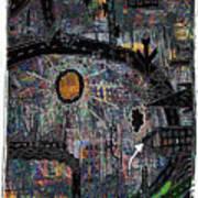 City Dragon Art Print