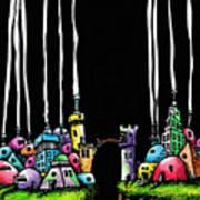 City Gap Art Print