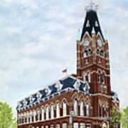 City Hall circa1873 Belleville Ontario Art Print