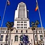 City Hall La Art Print