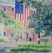City Hall Old Town Alexandria Virginia Art Print