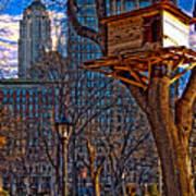 City Housing Art Print