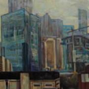 City In The Cityscape Art Print