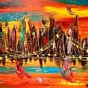City Ny Art Print
