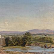 City Of Mexico From The Hacienda De Los Morales Art Print