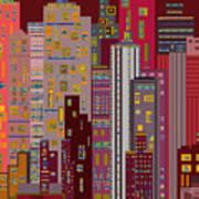 City of Night Art Print