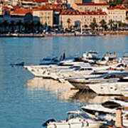 City Of Split In Croatia Art Print