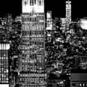 City Of The Night Art Print