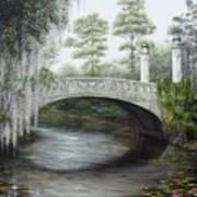 City Park Bridge Art Print
