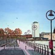 City Quay Campshires Art Print
