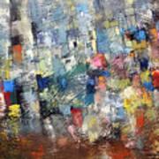 City Scape 3 Art Print