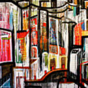 City Scene Art Print
