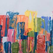 City Skyline 1 Art Print