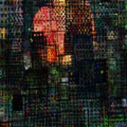City Sunset 2010 Art Print