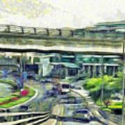 City Traffic Art Print