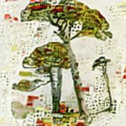 City Trees Art Print