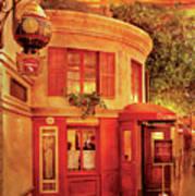 City - Vegas - Paris - Vins Detable Art Print by Mike Savad