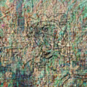 City Woman Art Print